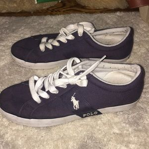 Polo navy shoes